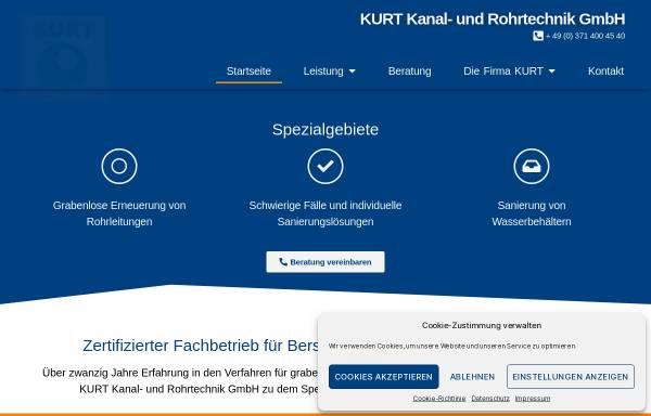 Vorschau von www.kurt-chemnitz.de, Kanal- und Rohrtechnik GmbH