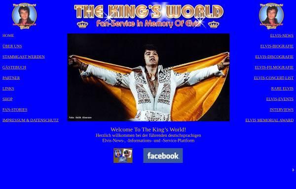 Vorschau von thekingsworld.de, The King's World