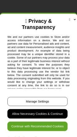 Vorschau der mobilen Webseite www.medizinfo.de, MedizInfo: Ernährung