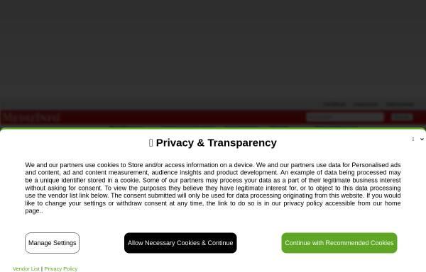Vorschau von www.medizinfo.de, MedizInfo: Essstörungen