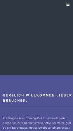 Vorschau der mobilen Webseite www.svkoeln.de, Schwule Väter Köln