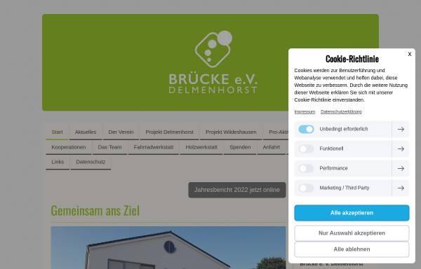 Vorschau von www.bruecke-delmenhorst.de, Brücke e. V. Delmenhorst