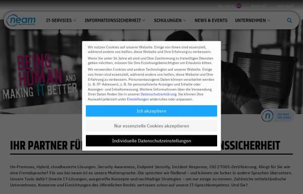 Vorschau von www.neam.de, neam IT-Services GmbH