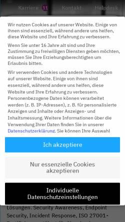 Vorschau der mobilen Webseite www.neam.de, neam IT-Services GmbH
