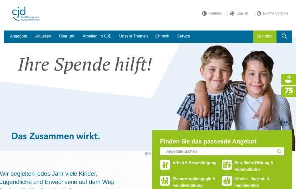 Vorschau von www.cjd.de, Christliches Jugenddorfwerk Deutschlands (CJD)