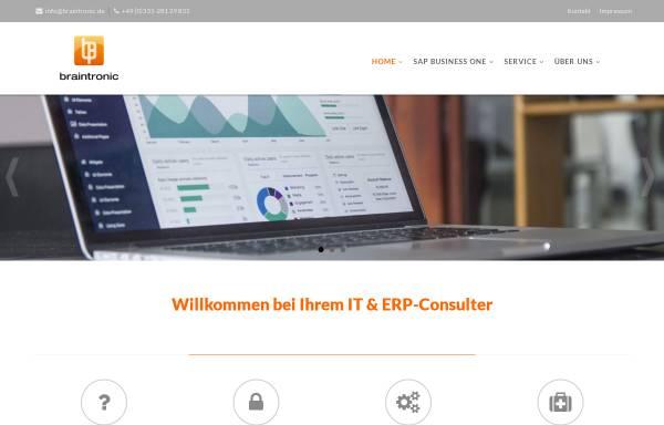 Vorschau von www.braintronic.de, Braintronic Software GmbH