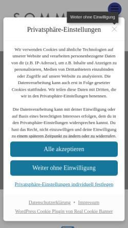 Vorschau der mobilen Webseite www.sommer-rechtsanwalt.de, Sommer und Jansen