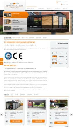 Vorschau der mobilen Webseite www.carport-schmiede.de, Carport-Schmiede GmbH & Co. KG