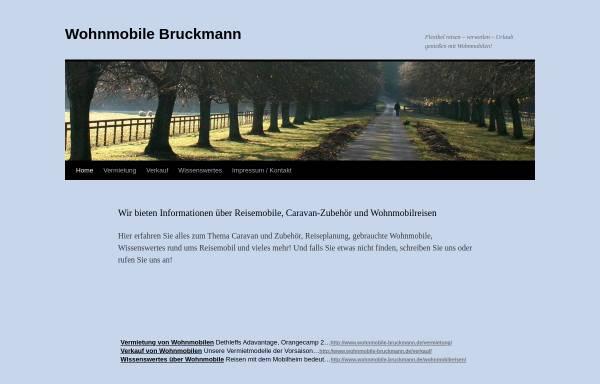Vorschau von www.wohnmobile-bruckmann.de, Bruckmann Wohnmobile