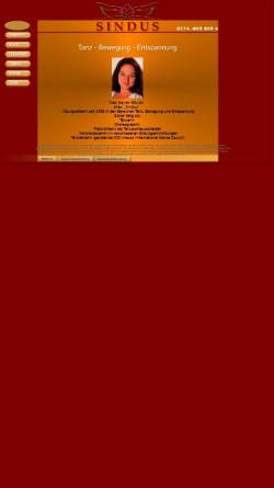 Vorschau der mobilen Webseite www.sindus.de, Sindus