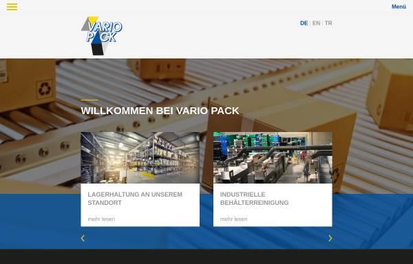 Vorschau von www.variopack-borchert.de, Vario Pack Borchert GmbH