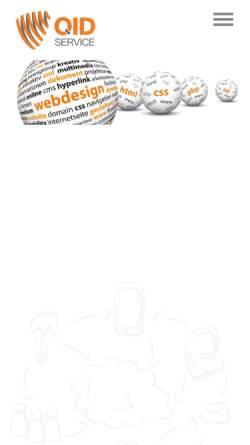 Vorschau der mobilen Webseite www.typo3-mr.de, Quast Internetdienstleistungen