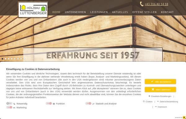 Vorschau von www.zimmerei-luttenberger.at, Zimmerei Luttenberger u. Co KG