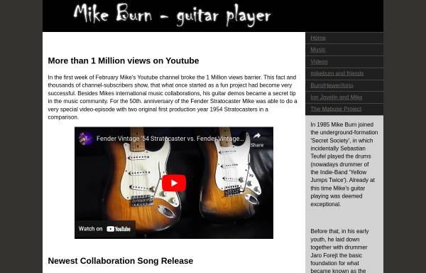Vorschau von www.mikeburn.de, Burn, Mike
