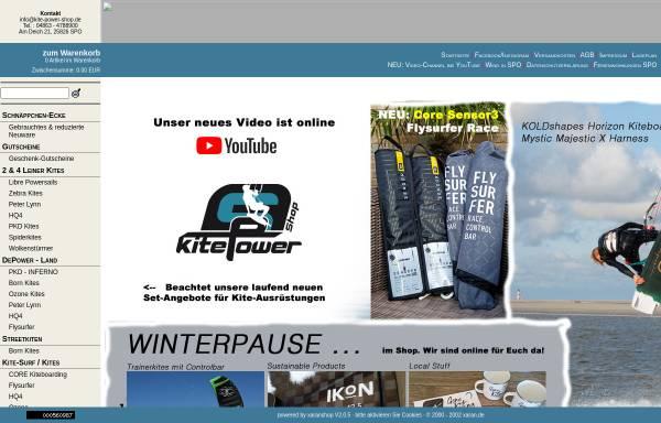 Vorschau von www.kite-power-shop.de, Kite-Power-Shop