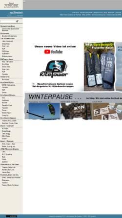 Vorschau der mobilen Webseite www.kite-power-shop.de, Kite-Power-Shop