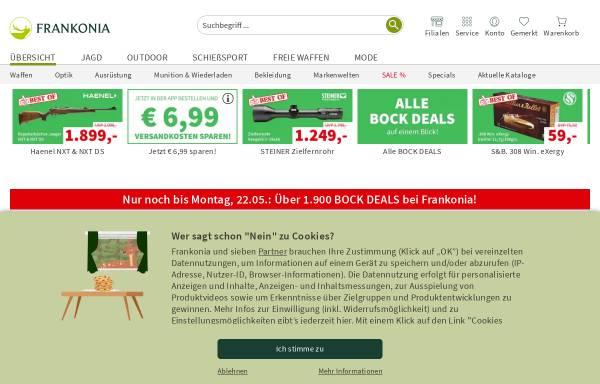 Vorschau von www.frankonia.de, Frankonia Jagd