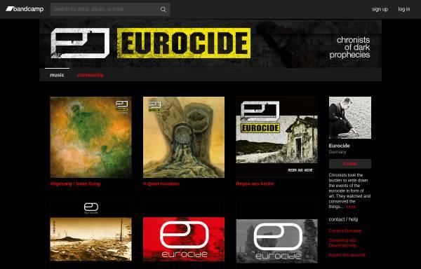Vorschau von www.eurocide.de, Eurocide