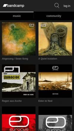 Vorschau der mobilen Webseite www.eurocide.de, Eurocide