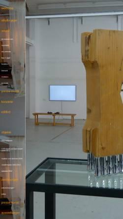 Vorschau der mobilen Webseite www.sibyllagiger.com, Giger, Sibylla