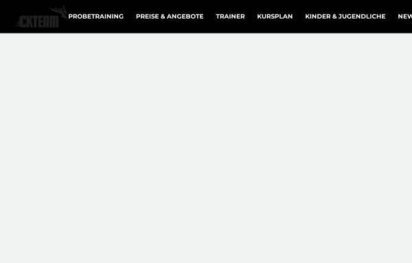 Vorschau von www.ckteam.de, Cologne Kickboxers