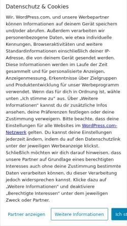 Vorschau der mobilen Webseite dieperlen.wordpress.com, Die Perlen