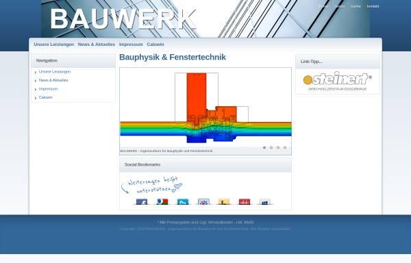 Vorschau von www.waermeschutz.cc, Bauwerk