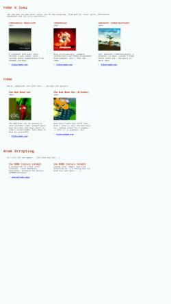 Vorschau der mobilen Webseite non.sense.ch, Rübe und Luki