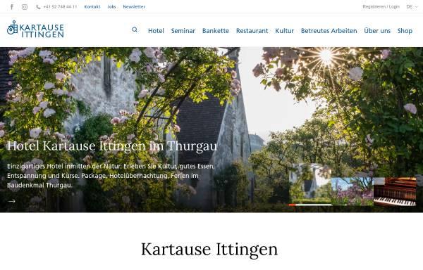 Vorschau von www.kartause.ch, Karthause Ittingen-Warth
