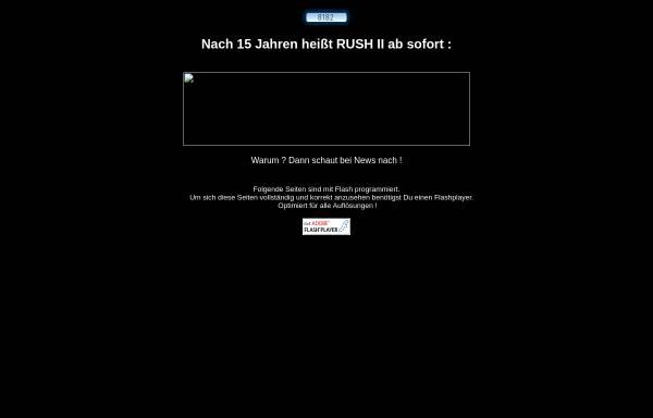 Vorschau von www.rushii.de, Rush II