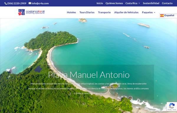 Vorschau von www.costaricaforall.com, Costa Rica For All