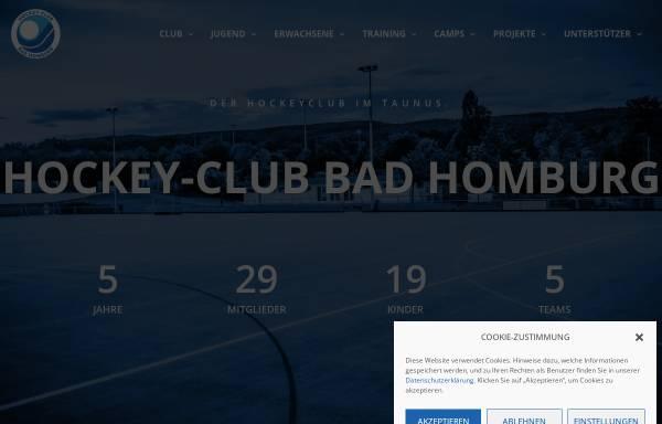 Vorschau von www.hc-badhomburg.de, Hockey-Club Bad Homburg e.V.