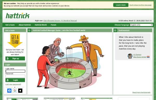 Vorschau von www.hattrick.org, Hattrick