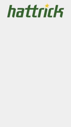 Vorschau der mobilen Webseite www.hattrick.org, Hattrick