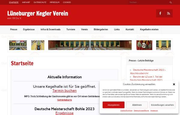 Vorschau von lkvkegeln.de, Lüneburger Kegler Verein von 1913 e.V.