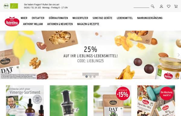 Vorschau von www.keimling.de, Keimling Naturkost GmbH