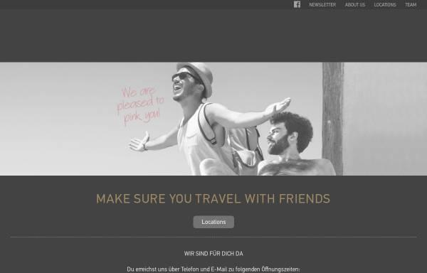 Vorschau von www.pinkcloud.ch, Pink Cloud Travel Service