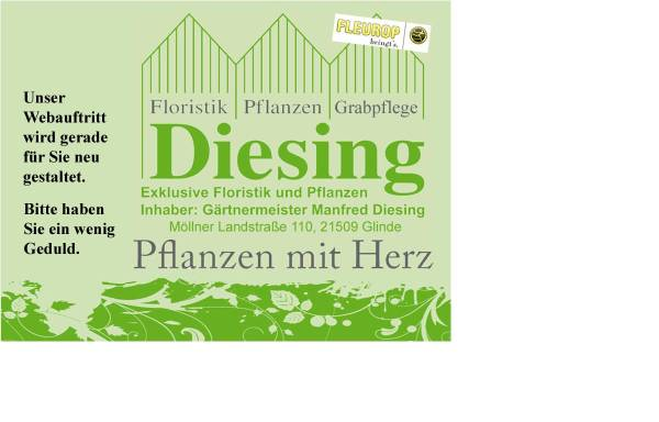 Vorschau von www.gaertnerei-diesing.de, Gärtnerei Diesing
