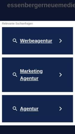 Vorschau der mobilen Webseite essenbergerneuemedien.de, Andreas Essenberger