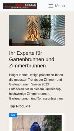 Vorschau der mobilen Webseite www.wes.at, Wiener Einkaufsstraßen Online