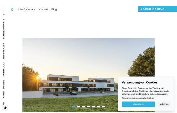 Vorschau von www.bauer-kirch.de, Bauer + Kirch GmbH