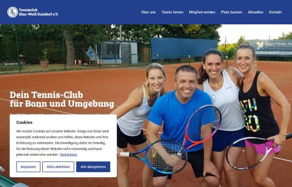 Vorschau von www.tennis-bonn.de, TC Blau Weiß Duisdorf e.V.