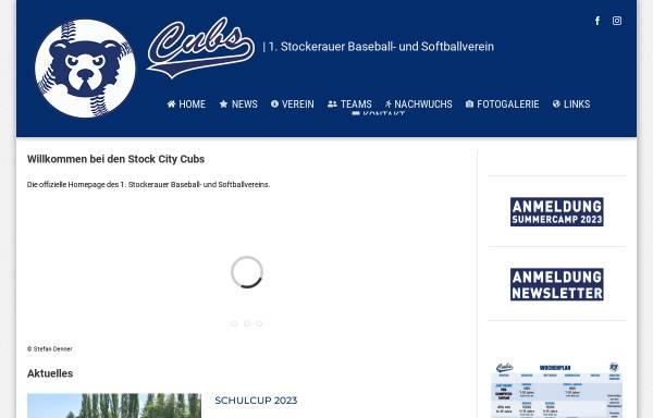 Vorschau von www.cubs.at, Stockerau Stock City Cubs