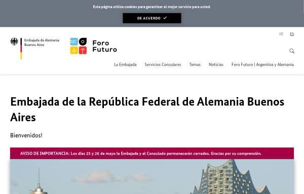 Vorschau von www.buenos-aires.diplo.de, Argentinien, deutsche Botschaft in Buenos Aires