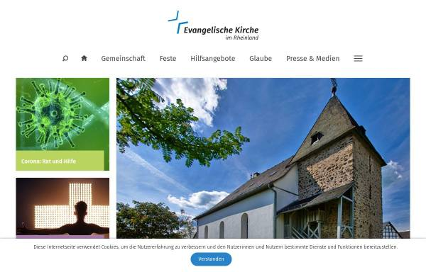 Vorschau von www.ekir.de, Evangelische Matthäus-Kirchengemeinde in Hürth