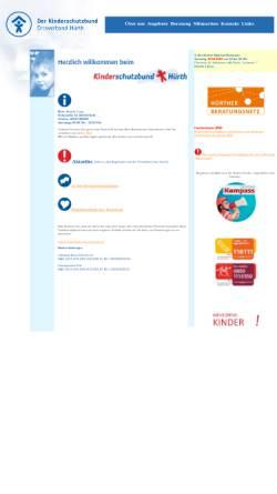 Vorschau der mobilen Webseite www.kinderschutzbund-huerth.de, Kinderschutzbund-Hürth