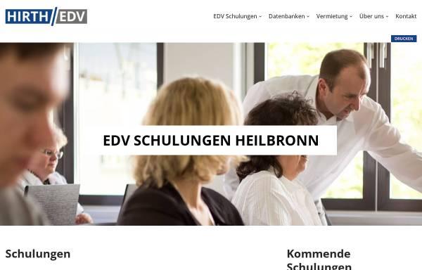 Vorschau von www.edv-schulungscenter.de, EDV-Schulung Michael Hirth