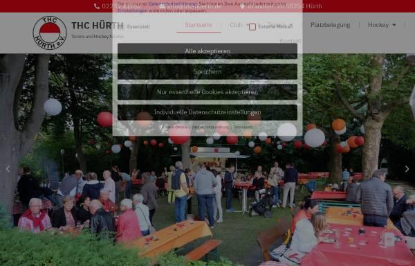 Vorschau von www.thc-huerth.de, Tennis und Hockey-Club Rot-Weiss e.V - Online-Präsenz
