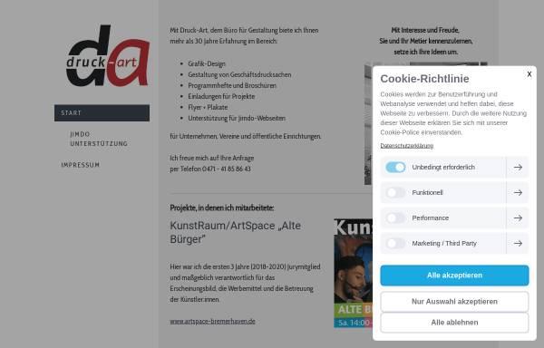 Vorschau von www.druck-art.com, Druck-Art