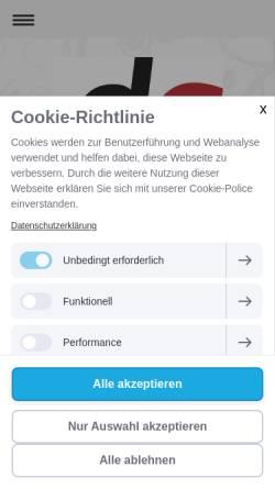 Vorschau der mobilen Webseite www.druck-art.com, Druck-Art